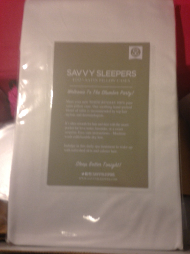 Savvy Sleepers 100% Satin Pillow Case