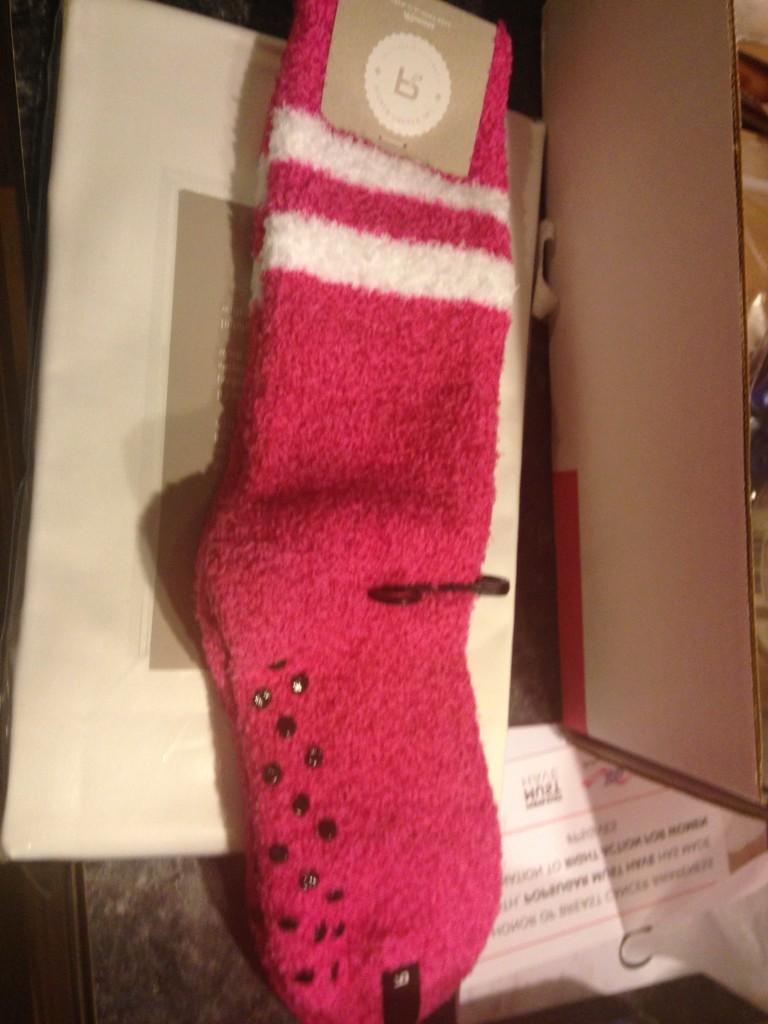 Richer Poorer Hope Slipper Sock