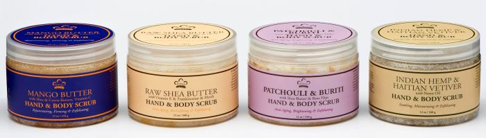 Nubian Heritage Hand and Body Scrubs