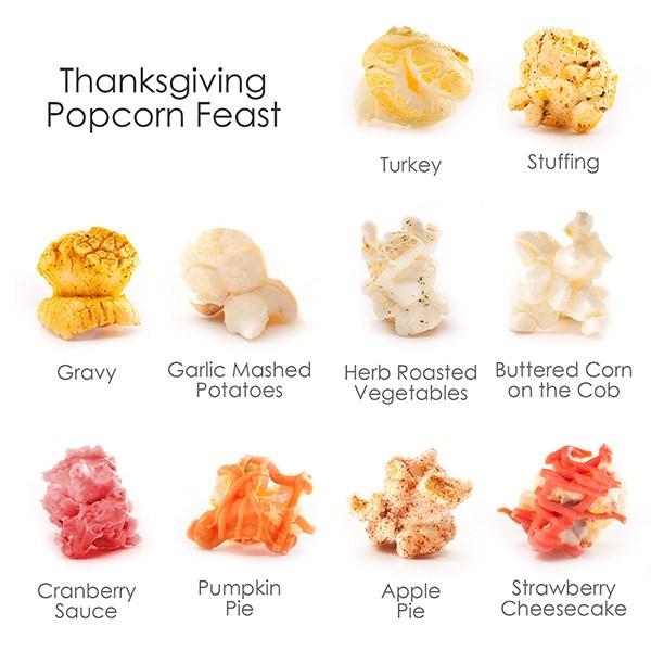 Thanksgiving Popcorn Feast Flavors