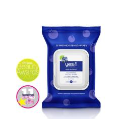 Yes to Blueberries Cleansing Facial Wipes - 25ct