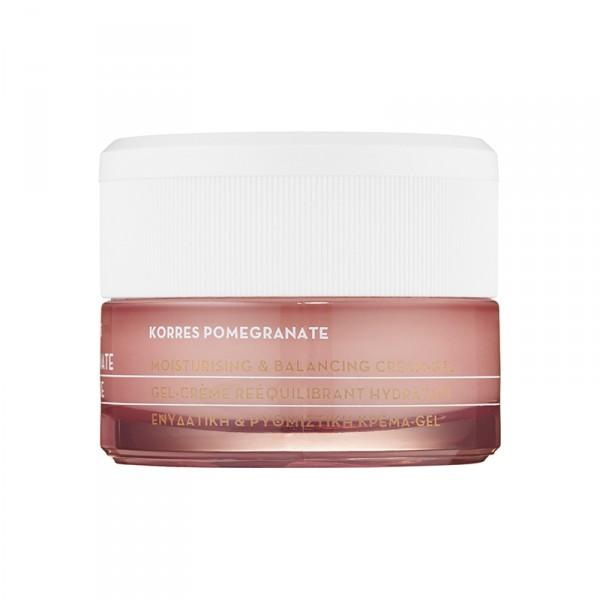 Korres Pomegranate Moisturising & Balancing Cream-Gel