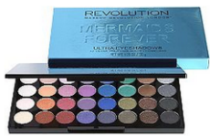 Makeup Revolution's Mermaids Forever 32 Piece Eyeshadow Palette