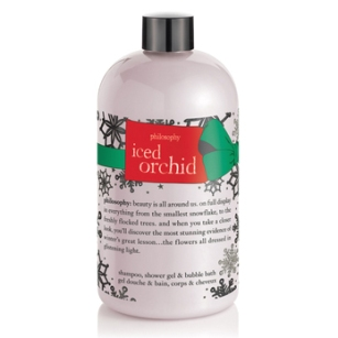 Philosophy Iced Orchid Shampoo, Shower Gel and Bubble Bath