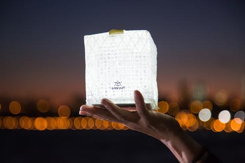 SolarPuff Lamp