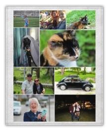 Collage.com Photo 50x60 Fleece Blanket