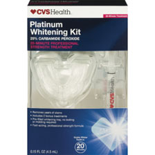 CVS Platinum Whitening Kit