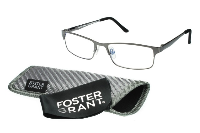 Foster Grant Sampson Readers in Gunmetal
