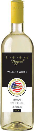 Leer Vineyards Valiant White Moscato