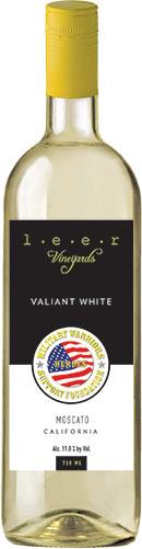Leer Vineyards Valiant White Moscato