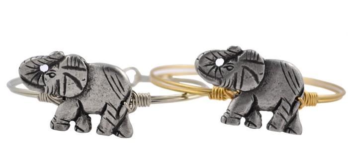 Lucia + Danni Lucky Elephant Bangle
