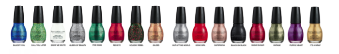 Sinful Colors Holiday 2015