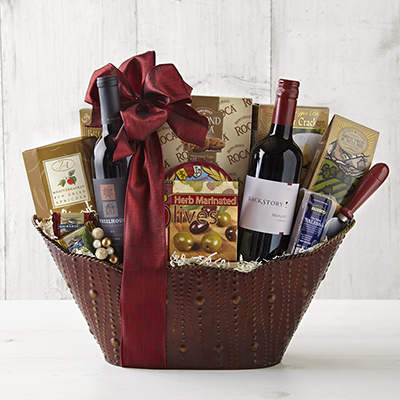 Wine of The Month Club Vintner's Own Gift Basket