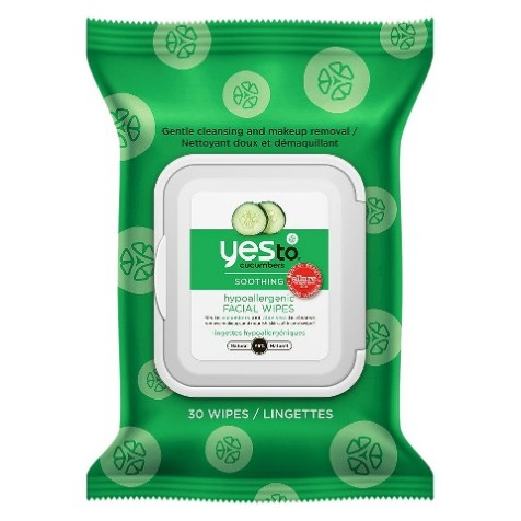 Yes To Cucumbers Face Cleanser Towelettes 30ct.