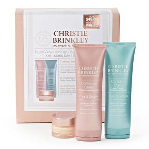 Christie Brinkley Authentic Skincare New Awakenings Anti-Aging Day Treatment Discovery Gift Set