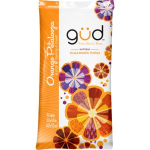 Gud By Burt's Bees Orange Petalooza Natural Cleansing Wipes