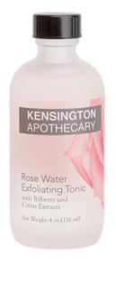 Kensington Apothecary Rose Water Exfoliating Tonic