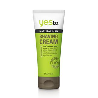 Yes To Natural Man Shaving Cream