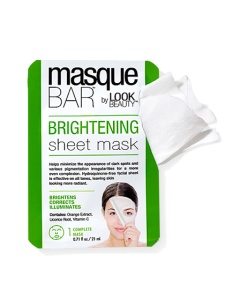 Masque Bar by Look Beauty Brightening Sheet Mask
