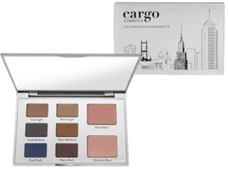 Cargo Cosmetics' Eye Contour in Warmer Bases