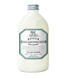 Body Wash Bubble Bath in Sea Lily Jasmine