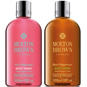 Molton Brown Pink Pepperpod and Black Peppercorn Body Washes