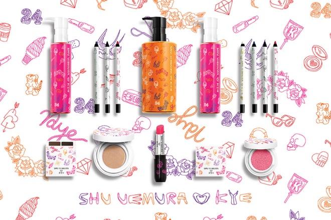 KYE For Shu Uemura Makeup Collection