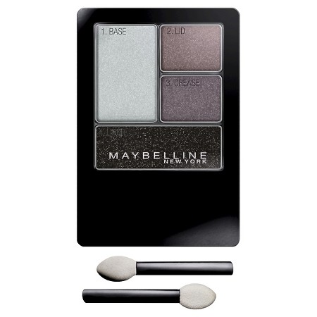 Maybelline Expert Wear Eye Shadow Quads Charcoal Smokes