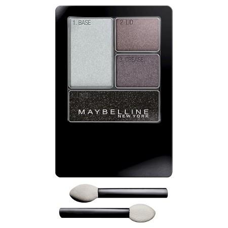 Maybelline Expert Wear Eye Shadow Quads Charcoal Smokes