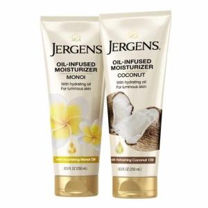 Jergens Oil-Infused moisturizers