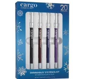 Cargo Cosmetics The Limited Edition Chill in the Six Swimmables™ Eye Pencil Kit