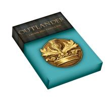 Outlander Crown & Thistle Sculpted Pin