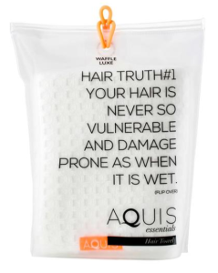 AQUIS Waffle Luxe Hair Towel