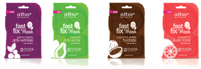 Alba Fast Fix Sheet Masks