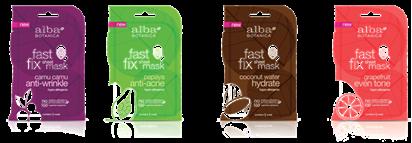 Alba Fast Fix Sheet Masks
