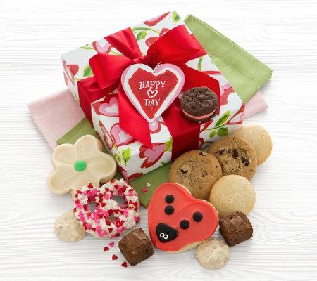Cheryl's Hearts and Flowers Treats Box