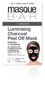 Spa @ Home by Masque Bar Luminizing Charcoal Peel Off Mask