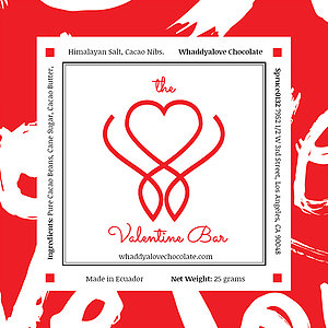 Seamless pattern with words LOVE, Valentines Day Background