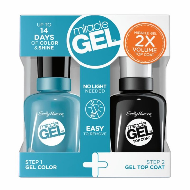 "SALLY HANSEN  LIMITED EDITION MIRACLE GEL™ ""FESTIVAL FLORAL"" COLLECTION"