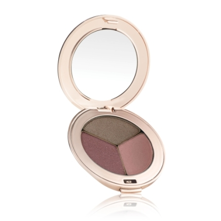 Jane Iredale PurePressed Eye Shadow Triple in Soft Kiss