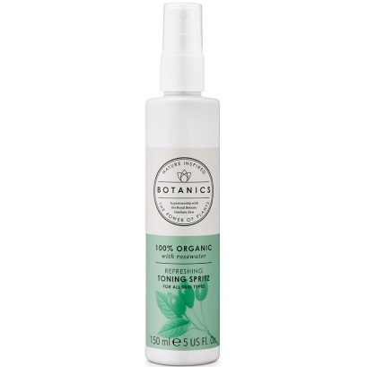 Botanics 100% Organic Rosewater Toning Spritz
