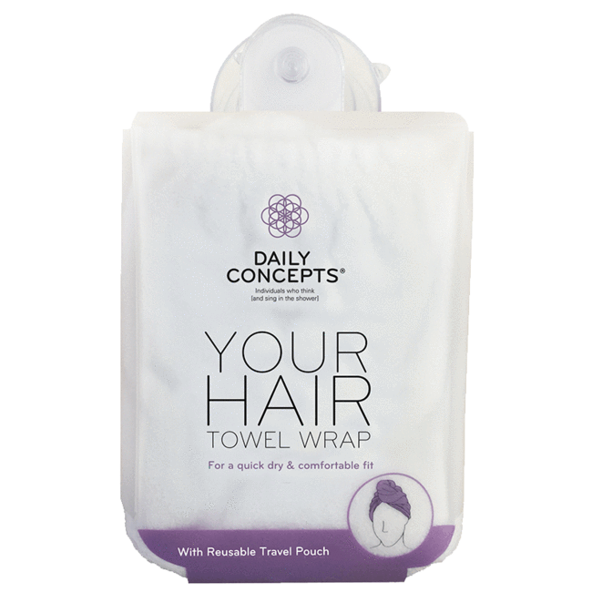 Daily Concepts DAILY HAIR TOWEL WRAP