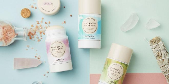 LAVANILA Healthy Deodorant Elements Collection