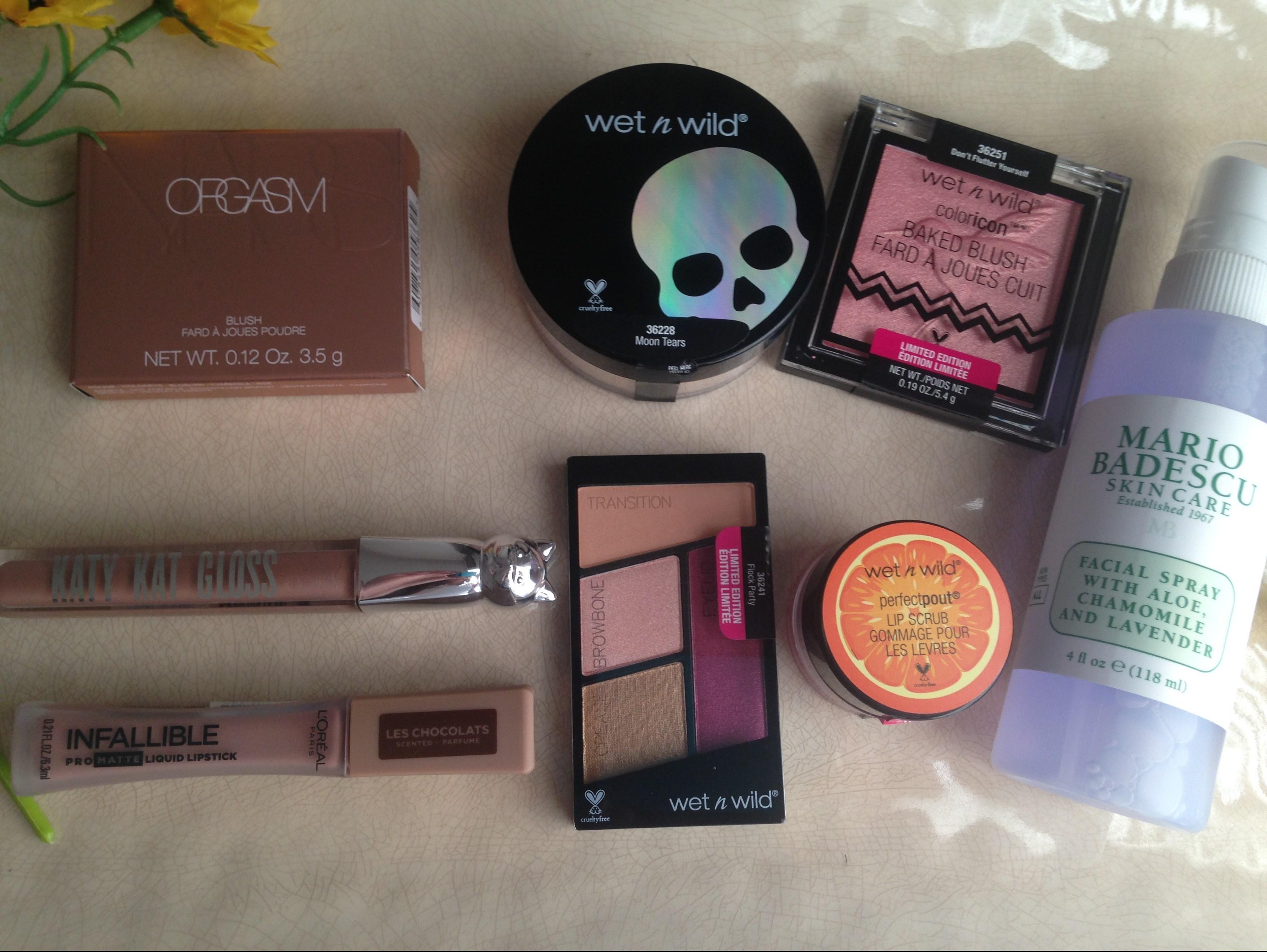 Drugstore Haul And My Ulta Birthday Gift Forty Flirty Fabulouss Weblog