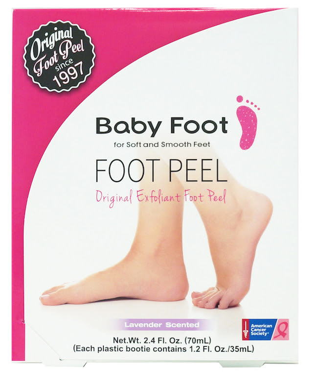 Baby Foot Pink Ribbon Box