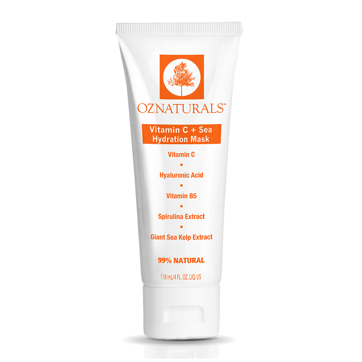 OZNaturals Vitamin C + Sea Hydration Mask