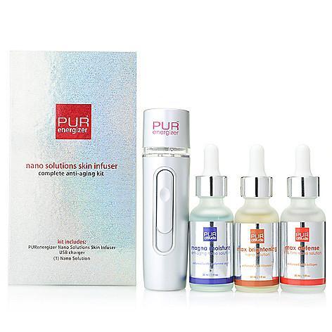 PURENERGERIZER™ Nano Solutions Skin Infuser Kit