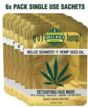 Uncle Bud_s Belize Seaweed Detoxifying Face Mask