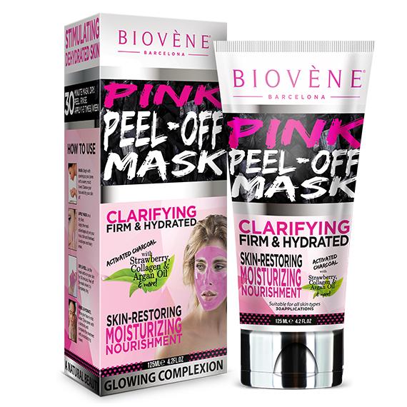 Biovene Pink Peel-Off Mask