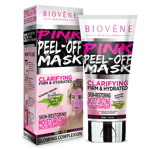 Biovene Pink Peel-Off Mask